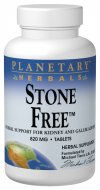 Planetary Herbals Stone Free™is a unique combination designed to support the kidneys, liver and gallbladder. Dandelion root and turmeric root are bitter substances that can support the body's normal bile flow. Gravel root, parsley root and marshmallow root have been used historically for supporting normal fluid elimination..