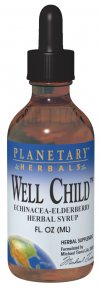 Well Child Echinacea-Elderberry Herbal Syrup is a dynamic seasonal health compound..