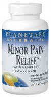 Planetary Herbals powerful Minor Pain Relief unites age-old tradition with modern science. This comprehensive formula combines corydalis, a primary minor pain relieving herb extensively used in China, with willow bark, traditionally used in the West. Also included are powerful COX-II inhibitors from ginger root and Humulex, a hops extract for relief of minor pain from daily activities or overexertion..