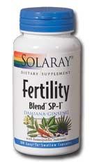 Fertility Blend Sp 1 100 Caps Solaray Vitamins 2019