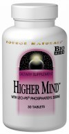 Higher Mind addresses the multiple interdependent body systems necessary for healthy brain function: neurotransmitter production, cell membrane stability, energy generation, antioxidant defense and myelin sheath generation. This Bio-Aligned Formula features phosphatidyl serine a phospholipid that is an essential component of nerve cell membranes. These membranes conduct electrical impulses that promote communication between nerve cells contributing to healthy cognitive function..