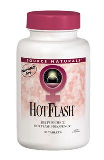 Hot Flash formula includes optimal amounts of phytoestrogens, which may lessen the effects of luteinizing hormone and reduce the frequency of hot flashes..