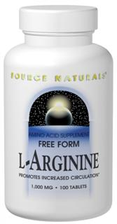 L-Arginine is a crystalline free-form amino acid.  It is an important factor in muscle metabolism and works to transport store and excrete nitrogen.  It is a precursor for nitric oxide which promotes increased circulation by relaxing blood vessels..