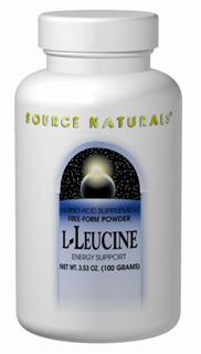 L-Leucine is an essential amino acid, specifically classified as a 'branched-chain amino acid' (BCAA).  BCAAs, especially leucine, stimulate muscle protein synthesis and may be the major fuel involved in anabolic reactions.  This makes them especially important for body builders and other athletes in sports that demand explosive strength..