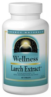 Source Naturals Wellness Larch Extract contains arabinogalactans, which are extracted from the Western Larch tree. In vitro studies have shown that arabinogalactans enhance the function of some immune cells..