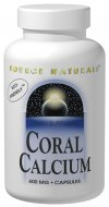 Coral calcium contains the alkaline minerals calcium and magnesium, as well as other essential trace minerals. Source Naturals Coral Calcium is eco-friendly because it is harvested in Okinawa, Japan from fossilized (dead) coral and is not harmful to living coral..