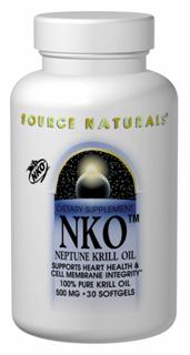 NKO is an extract from Antarctic krill that is rich in cell membrane building blocks: highly unsaturated phospholipids co-functionalized with omega-3 fatty acids (EPA & DHA).  Although beneficial for both men and women, NKO also supports temporary relief of PMS symptoms..