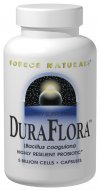 Source Naturals DuraFlora is a beneficial probiotic that forms highly resilient structures which create a protective barrier around each cell and support healthy intestinal flora. .