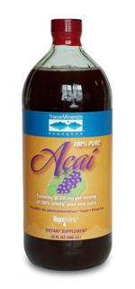Liquid Pure Acai contains only 100% whole, pure acai (Euterpe oleracea) berry juice. It contains the