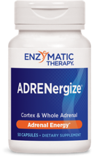 Powerful adrenal support formula formerly known as Adrenal-Cortex Complex is now caled ADRENergize. Restores energy levels zapped by stress..
