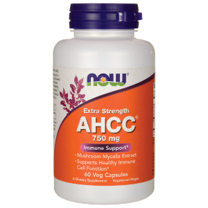 AHCC (Active Hexose Correlated Compound) is a proprietary extract produced from specially cultivated and hybridized mushrooms. Supports Healthy Natural Killer (NK) Cell Function..