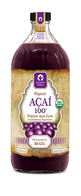 100% PURE Wild Harvested Whole Acai Berry Juice! Nothing added, NO added fruit juices, sweeteners,
