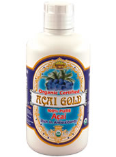 Dynamic Health Acai Gold is USDA Certified Organic, 100% Pure Acai Juice and has been traditionally used to increase energy, stamina, vitality, and to promote general good health..