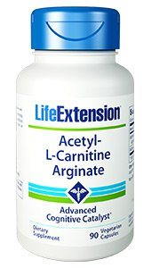 What are the benefits of Acetyl L Carnitine Arginate? Acetyl-L-carnitine arginate is a patented form of carnitine. Studies show that it stimulates the growth of neurites in the brain by 19.5%, which is almost four times better than acetyl-L-carnitine..