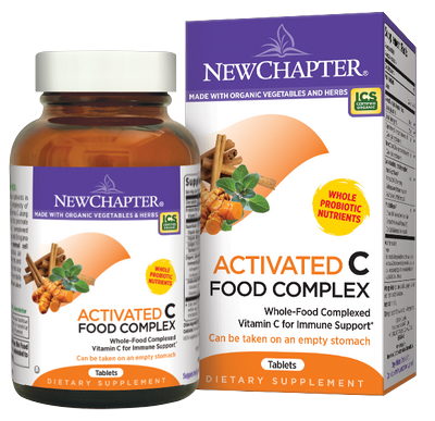 Activated C Food Complex contains whole-food complexed Vitamin C along with organic herbs Elderberry and Astragalus to support healthy immune function..