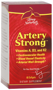 Vitamins A, D3, and K2 for Vascular Elasticity and Strength.