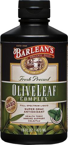 More than an extract and better than dried and processed pills, Barlean's Olive Leaf Complex contains a broad spectrum of beneficial olive leaf actives resulting in a powerful synergy for your vibrant health and energy..