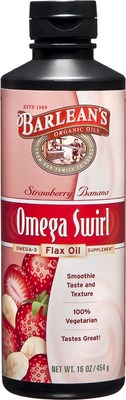 Omega Swirl strawberry-banana flavor looks and tastes like a fruit smoothie, yet provides optimal levels of vital and essential Omega-3 EPA/DHA to bring you vibrant health and energy..