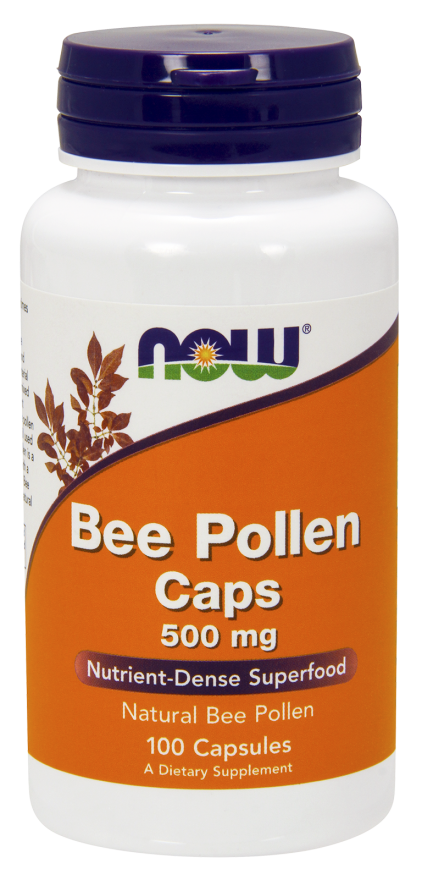 Bee Pollen is a natural material produced by the anthers of flowering plants and gathered by bees. It has a high content of protein and other nutrients..