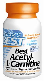 Acetyl-L-Carnitine (ALC) is a naturally occurring form of L-Carnitine, a vitamin-like nutrient synthesized in the body from the amino acids lysine and methionine. Useful in support of improved cognitive function, increased alertness and mental focus..