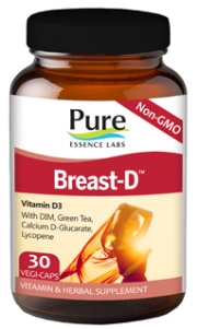 Vitamin D with DIM, Calcium D-Glucarate, Green Tea and Lycopene.