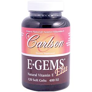 The Natural Source Vitamin E in E-Gems Elite is twice as active as synthetic vitamin E, inside our bodies..