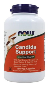 Candida Support™ is a combination of herbal ingredients (Pau D'Arco, Black Walnut and Oregano Oil), Biotin (a B-complex vitamin) and Caprylic Acid (a naturally occurring fatty acid derived from plant oils)..