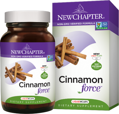 Supercritical Cinnamon Helps to Maintain Blood Sugar Already in a Normal Range. 100% vegetarian..
