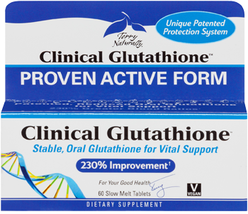 Clinical Glutathione supplements and supports the body's ability to help repair damaged cells caused by infection, stress, radiation, pollution and a host of other ailments. Give your immune system a boost today..