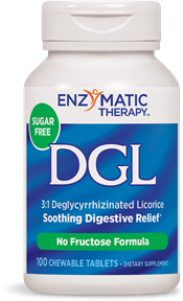 DGL sugar free chewable tablets help to safely relieve stomach discomfort immediately..