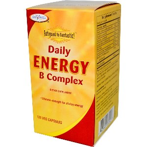 Fatigued to Fantastic! Daily Energy B Complex (120 Softgels).