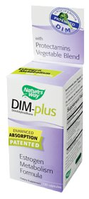 Nature's Way DIM Plus is an enhanced absorption patented estrogen metabolism formula. Balancing hormones for Men and Women..