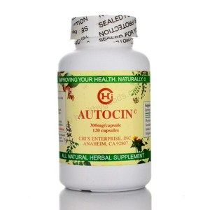 Autocin by Chi's Enterprise contains the herbs Phytolacca esculenta, Scutellaria baicalensis, smilax china, and plygonum cuspidatum. Natural Immunity Support..