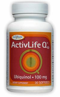 ActivLife Q10 provides unique support for energy production and healthy aging. Kaneka QH brand of CoQ10..