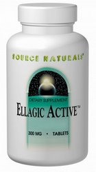Ellagic Active (120 mg of ellagitannins from raspberry extract). 300 mg - 60 tabs.