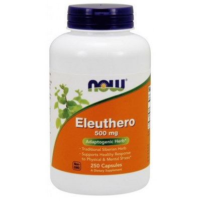 Eleuthero (500 mg 250 capsules) Eleuthero Root provides an increase in energy and enhance mental, physical endurance and vitality. When we think clearer, we perform better!.