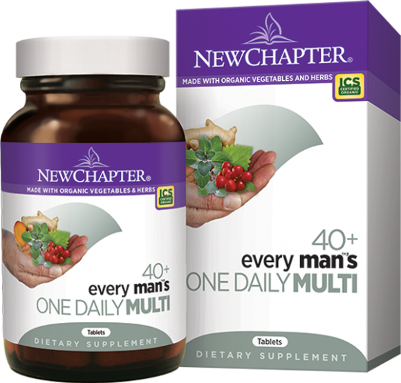 Every Man over 40 provides support to eyes, digestive tract, prostate and overall good nutrition with just one tablet per day..