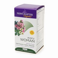 Every Woman delivers 25 nutritive and energizing probiotic vitamins and minerals, plus 20 stress-balancing and free-radical scavenging herbs. Herbs like Chaste tree, hawthorn, cinnamon, oregano, and rosemary which support and sustain women's health and well being. Add a boost to your day with New Chapters Every Woman daily Multivitamin. Buy at Seacoast Vitamins today!.