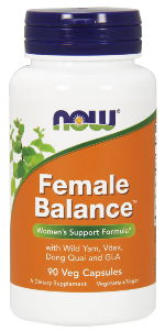 With Wild Yam, Borage Oil, Dong Quai and more, this perfectly balanced blend of potent herbal extracts and essential fatty acids (omega-3 and –6) may encourage normal menstruation, reduce the severity of cramps and support a healthy positive mood..