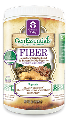 GenEssentials Fiber is made with organic ingredients  including: cold-milled flaxseeds, oats, noni fruit and leaf fiber, herbs and one billion probiotics per serving. Great for weight loss..