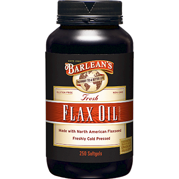 Award Winning, Best Selling Organic Flax Oil softgel.