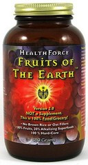 Highly potent antioxidant utilizing a blend of natures most nutritive fruits from around the world..