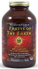 Fruits of the Earth from HealthForce Nutrition is a potent Superfood with exceptional antioxidant activity, and patented probiotic blend to enhance digestion..
