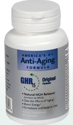 Tap into your own Fountain of Youth naturally with GHR 15.