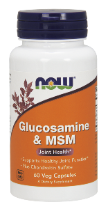 NOWs Glucosamine, Chondroitin, and MSM Products are Simply the Best'..