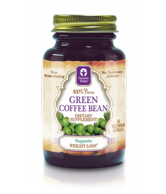 Green Coffee Bean 60 Vcaps 400 Mg Genesis Today 2020