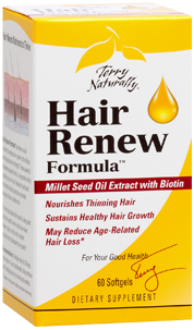 Hair Renew nourishes hair from the inside containing mullett seed oil. Clinically studied botanicals support age related hair loss, dry, brittle and dull looking hair. Buy Hair Renew at a discount at Seacoast.com.