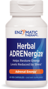 ADRENergize Herbal Formula restores vitality and energy, naturally..