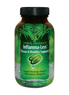 Inflamma-Less formula promotes mobility, flexibility and joint comfort using enzymes and Ayurvedic herbs. Bromelain, Quercetin,Chymotrypsin, Papain, Pancreatin, Trypsin are blended with Indian Frankincense, Ginger, Tumeric to provide effective support for healthy muscle tissues..