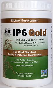 IP6 Gold powder plus Inositol  Original Formula. Nature's Medicine for the Next Millenium. Superior immune support for daily use. Great tasting..